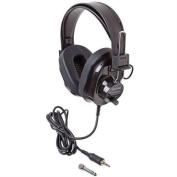 Califone International 2924AVPS-BK Deluxe Black Stereo Headphone