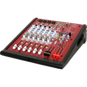 Galaxy Audio AXS-8 8-Channel Mixer, USB Out, Multi FX, Single Knob Compression