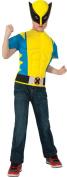 Morris Costumes RU820016 Wolverine Shirt Child