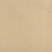 Designer Fabrics B635 140cm . Wide Gold Traditional Paisley Jacquard Woven Upholstery Fabric