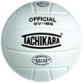 Tachikara Composite Leather Volleyball White