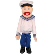 Sunny Toys GS4567B 70cm . Sailor Black-Haired Puppet