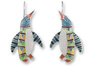 Zarah 20-08-Z1 Penguin Radiance Ultrafine Silver Plate Earrings