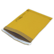 Deluxe Small Business Sales 75-4SCD 24cm x 37cm . Jiffy Self-Seal Padded Mailer Yellow
