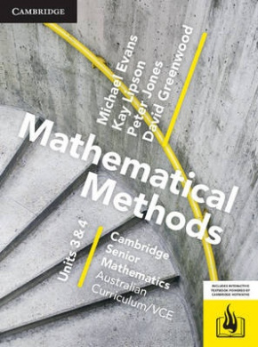 CSM Vce Mathematical Methods Units 3 and 4 Print Bundle (Textbook and Hotmaths)