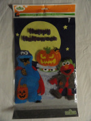 Sesame Street Cookie Monster and Elmo Halloween 3d Window Clings