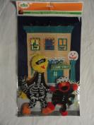 Sesame Street Big Bird and Elmo Halloween 3D Window Clings