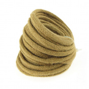 Wired Jute Cord Rope, 8mm, 9-yard