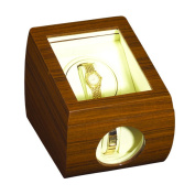 Impenco Watch Winder Box - Winds 1 Holds 2 Watches