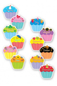 Creative Teaching Press CTP1795 Cupcakes Designer Cut Outs