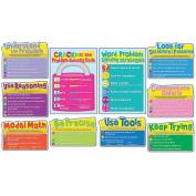 Carson Dellosa CD-110252 Common Core Math Strategies Bulletin Board Set