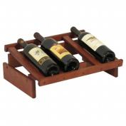 Wooden Mallet WRD4MH 4 Bottle Dakota Wine Display