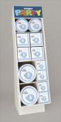 Unique Industries 41724 148 Pieces Paperware T Display