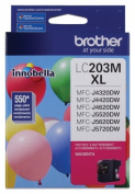 for Brother International LC203M High Yield Magenta Ink Cartrid