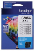 for Brother International LC205C Super High Yield Xxl Cyan Ink