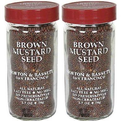Morton & Bassett BG15903 Morton & Bassett Mustard Seed - 3x80ml