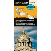 Universal Map 16304 West Virginia Waterproof Map