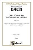 Alfred 00-K06056 Bach Cantata No. 150 V Book