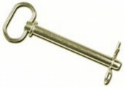 Double HH 25625 1.6cm x 16cm . Zinc Plated Hitch Pin