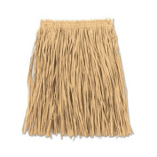 Beistle 54581-N Adult Mini Hula Skirt Natural - Pack Of 12