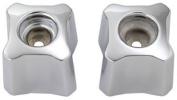 Brass Craft SH2536 Chrome Lavatory & Sink Handle - 2 Pack
