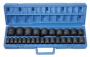 Grey Pneumatic Gp1326M Plus Metric 1.3cm . Drive Standard Length Master 26 Piece Set