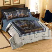 Northwest NOR-1HTM832000001RET Hautman Bros - Wilderness Comforter Set Full-Queen - 64 x 86