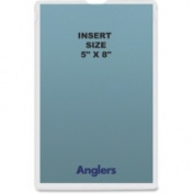Anglers Company ANG1452P50 Self-Stick Crystal Clear Poly Envelopes