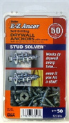 ITW Brands 25316 50 Pack No.50 Stud Plastic Drywall Anchors