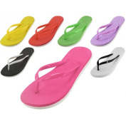 Easy USA S8039L-A Lady PE Sport Flip Flop 48 Pairs