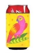 Carolines Treasures LD6146CC Bird - Parrot Can Or Bottle Hugger