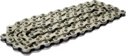 DUO Bicycle Parts BC12332SSV Bicycle Chain Silver 1.3cm x 0.2cm .