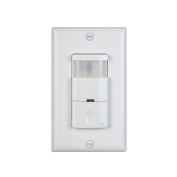 Nicor Lighting DOS180WH Occupancy & Vaccancy Sensor 180-Degree Field Of View White