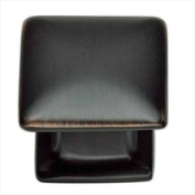 Atlas Homewares 322-VB Alcott 3.2cm . Square Knob - Venetian Bronze