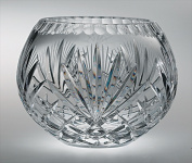 Majestic Gifts MA-120-6 Majestic 15cm . Crystal Rose Bowl