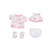 Dexter Toys DEX1504 Pink Clothing with Nappy for 38cm . Baby