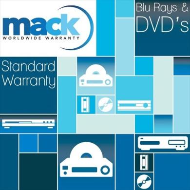 Mack Warranty 1043 4 Year VCR-DVD Warranty Under 2500 Dollars