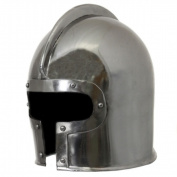 EcWorld Enterprises 8880604 Antique Replica 15Th Century Italian Barbuta Battle Amor Helmet