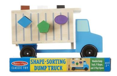 Melissa & Doug Dump Truck Kid's Toy
