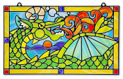 Stained Glass - Dragon