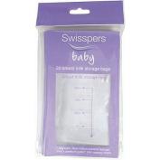 Swisspers Breast Milk Storage Bags 20 Pack