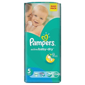 Pampers Nappies Size 5 50 Pack