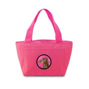 Caroline's Treasures SS4801-PK Field Spaniel Lunch or Doggie Bag, Large, Pink