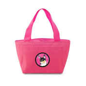 Caroline's Treasures SS4794-PK Chihuahua Lunch or Doggie Bag, Large, Pink