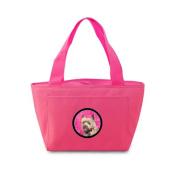 Caroline's Treasures LH9365PK Cairn Terrier Lunch or Doggie Bag, Large, Pink