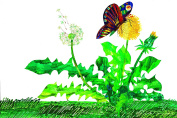 Marmont Hill Eric Carle's The Lamb and The Butterfly Flower Canvas Wall Art, 150cm by 100cm