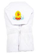 AM PM Kids! Hooded Towel, Duck, 0-2T