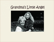 Havoc Gifts 3042SO Engraved Photo Frame, Grandma's Little Angel, Oyster