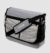 Columbia Global Adventure Messenger Nappy Bag, Grey