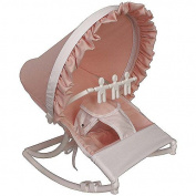 Hoohobbers Baby Rocking Infant Seat, Pink, White